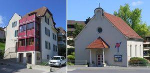 Bürogebäude, Wohung, Auerenstrasse, Adresse, Postcheck Konto, Telefonnummer